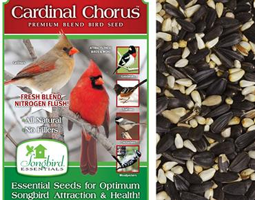 Cardinal Chorus Bird Seed Blend