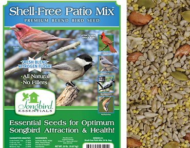 Shell-Free Patio Mix