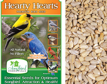 Hearty Hearts Bird Seed