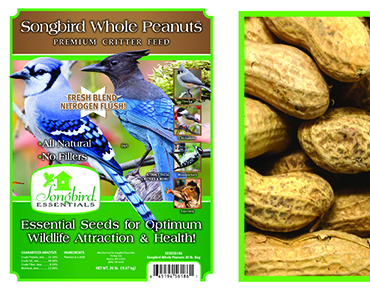 Songbird Whole Peanuts